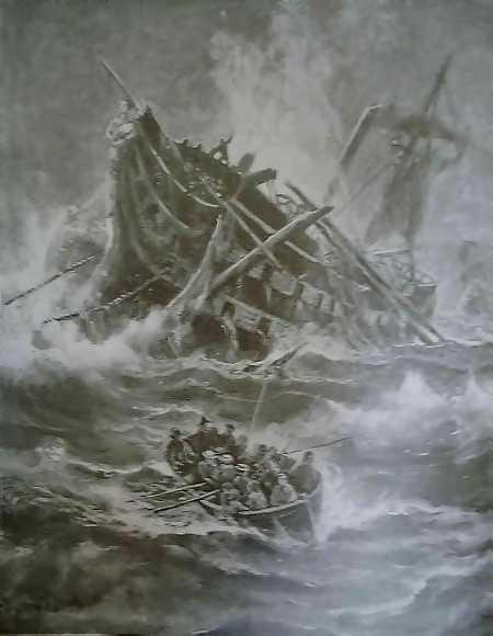 After Trafalgar by  Thomas M. Hemy