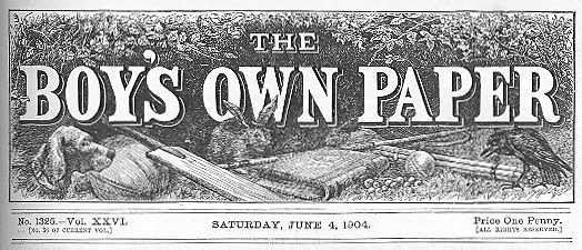 Boys Own Paper masthead June 1904