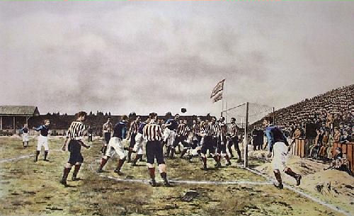 Sunderland v Aston Villa (1895) ex EasyArt