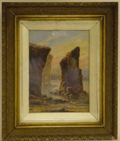 Possibly Bell Rock, by Thomas M. M. Hemy, date unknown.