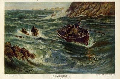 The Crabbers or Crabbers by Thomas M. M. Hemy, 1907 or 1908 perhaps