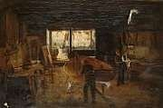 The Fisherman's Workshop, an 1874 work by Thomas M. M. Hemy