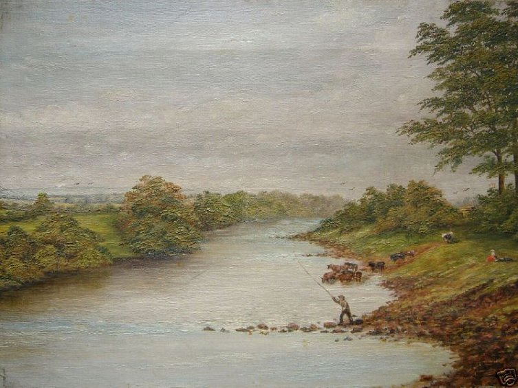 Fishing on the Ouse by 