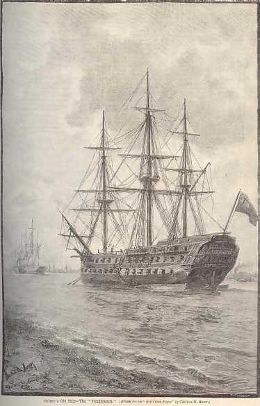 Nelson's Old Flag Ship 
