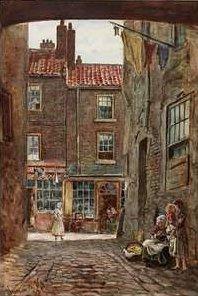 Holmes' Wharf, Sunderland, 1882, by Thomas M. M. Hemy