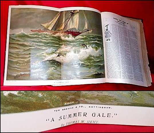 A Summer Gale by Thomas M. Hemy