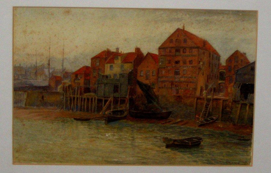 Watercolour by  Thomas M. M. Hemy 1872
