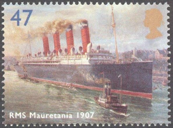 Mauretania Stamp 47p issued April 13, 2004 in U.K.