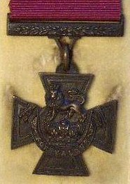 The Victoria Cross awarded, posthumously, to Lt. Frederick Parslow, V.C. R.N.R.