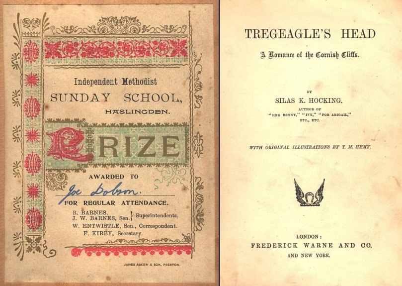 The frontispiece of my Treagle's Head volume 