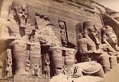 Beato - A magnificent image of Abu Simbel