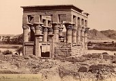 Beato - Temple at Philae. Image adjusted for these pages