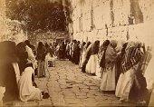 Bonfils Jews praying at the Western Wall