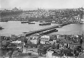 B. Kargopoulo - panoramic view of Constantinople from the Galata tower.