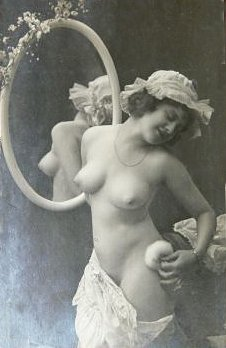 Am I permitted to show one exotic (or perhaps erotic indeed) postcard which ...