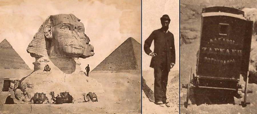 Zangaki at the Sphinx 1870/1880 period