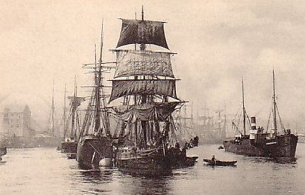9) 'River View, Sunderland' in a postcard mailed September 30, 1902.
