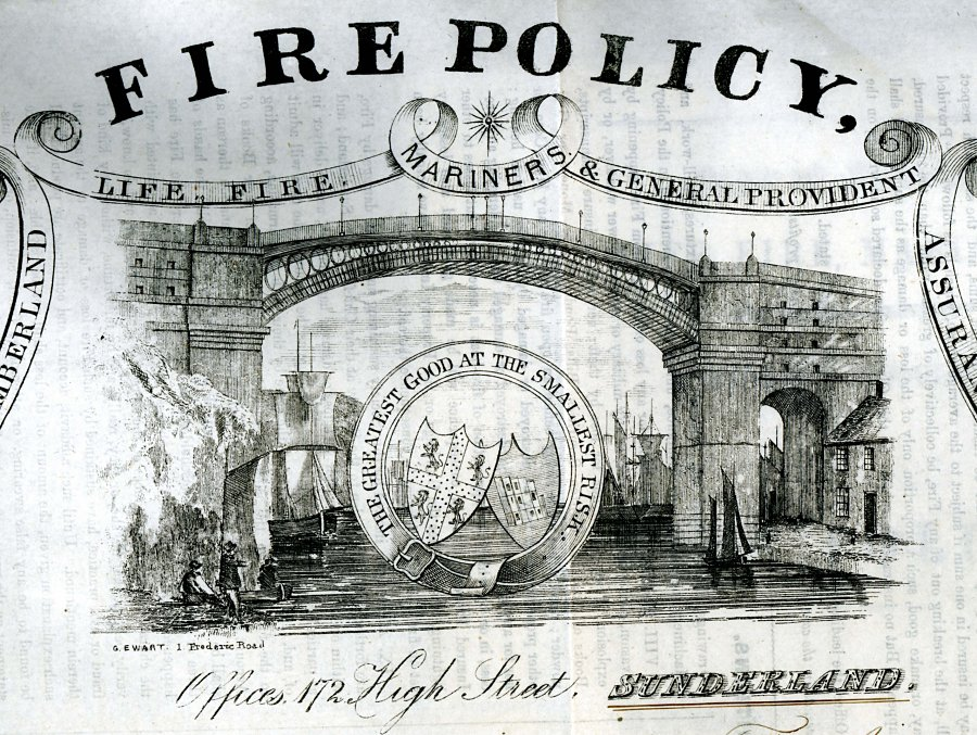 The 1859 road bridge as 