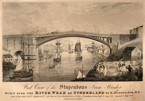 Engraving of 'West view of the 