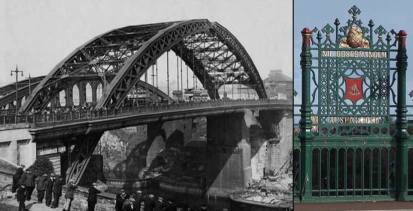 The bridge opening in 1929 and 