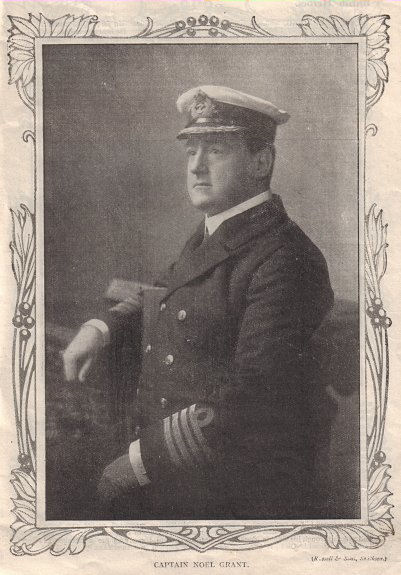 Captain Noel Grant of Carmania from 'British Heroes of the War' a WW1 paperback.