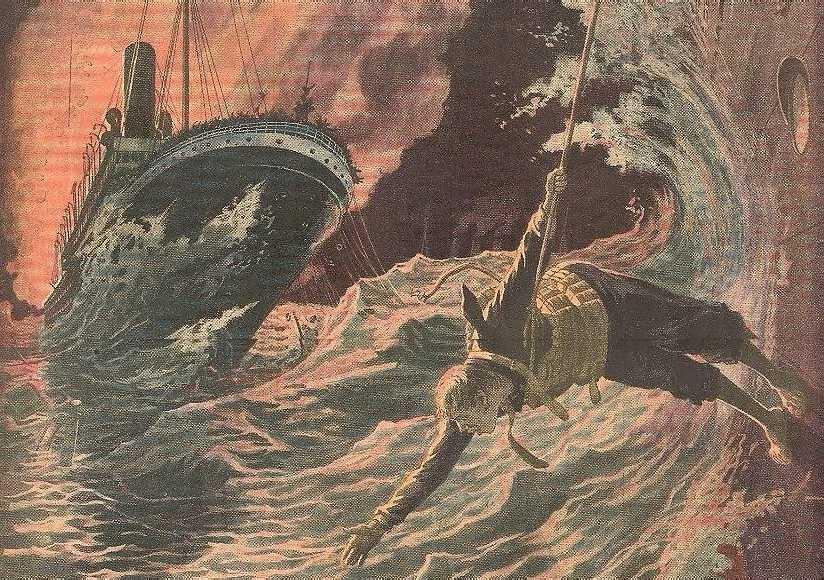 La Catastrophe du Volturno detail